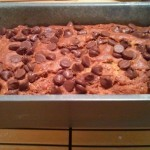 Quick and easy peanut butter chocolate chip banana bread recipe