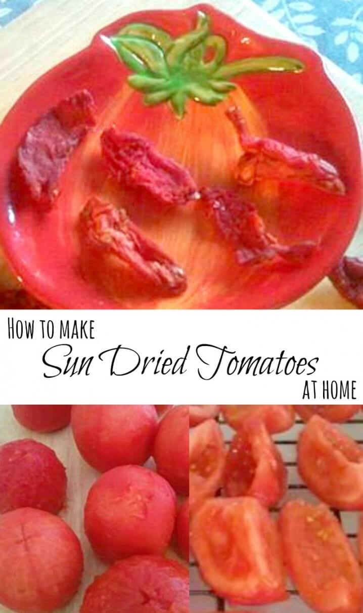 Learn how to make sun-dried tomatoes at home. It's fun and SO much cheaper than buying them at the store.