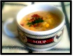 chicken corn chowder from ItsYummi.com #recipe #soup