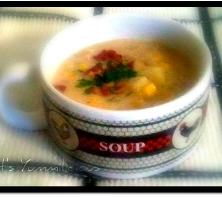 Kickin' Chicken Corn Chowder Recipe