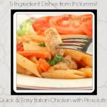 Italian Chicken with Prosciutto from ItsYummi.com #EasyDinners #5IngredientDishes