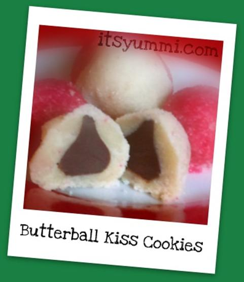 Butterball Kiss Cookies