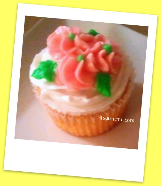 Meyer Lemon Cupcake