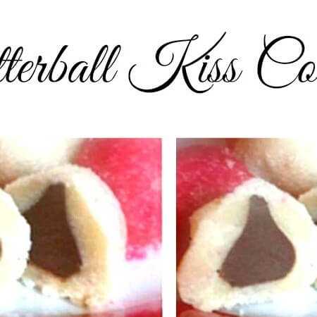 Easy Christmas Cookies Recipe: Chocolate Kiss Butterball Cookies - Get the recipe for these holiday cookies on itsyummi.com