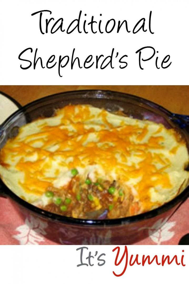 shepherds pie recipe - classic comfort food for St. Patrick's Day, or any day! Get the recipe at itsyummi.com