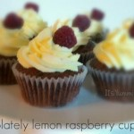Chocolate Lemon Raspberry Cupcake Recipe from ItsYummi.com