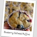 Blueberry Oatmeal Muffins from ItsYummi.com