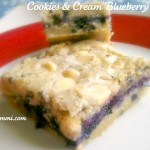 Blueberries 'n Cream Cookie Bars - Get the recipe for this sweet dessert from itsyummi.com