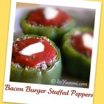 bacon burger stuffed peppers recipe