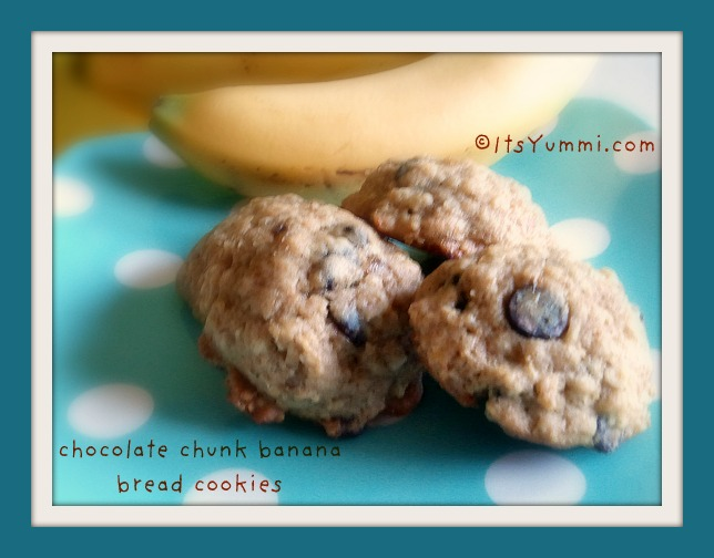 Chocolate Chunk Banana Bread Cookies