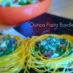 Quinoa Pasta Bundles