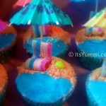 Day at the Beach Cupcake recipe