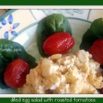 Dilled Egg Salad w Roasted Tomatoes