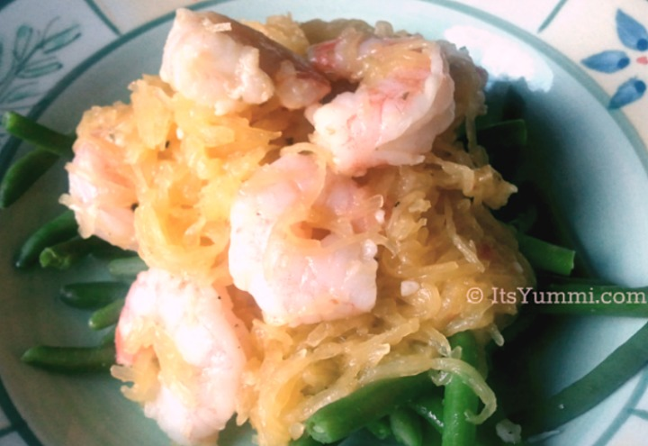 How to Make Shrimp Scampi with Spaghetti Squash