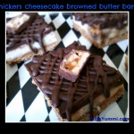 Snickers Cheesecake bars1