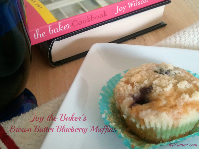 brown butter blueberry muffins-main