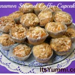 Cinnamon Streusel Coffee Cupcakes from ItsYummi.com