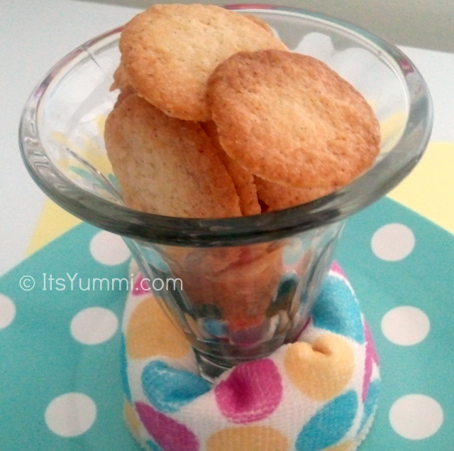 Homemade Vanilla Wafers, used to make easy frozen desserts like the crust for a Pecan Coffee Ice Cream Pie.