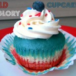 Old Glory Cupcakes from ItsYummi.com #Holiday #Recipe #Patriotic