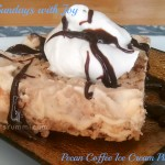 Pecan Coffee Ice Cream Pie from ItsYummi.com