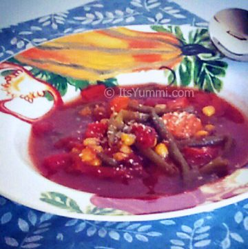 Fire Roasted Tomato Vegetable Soup