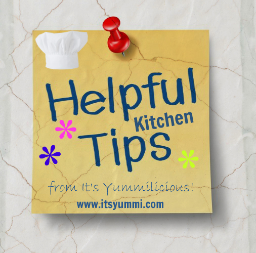Use her contact form to get helpful kitchen tips from Chef Bec / It's Yummi