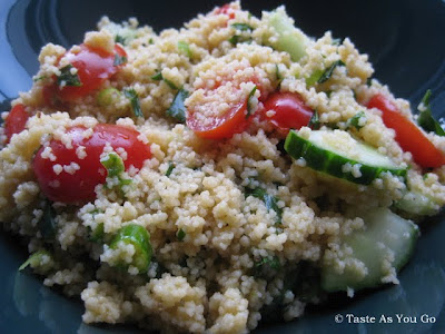 Simple Summer Couscous Salad {Guest Post}