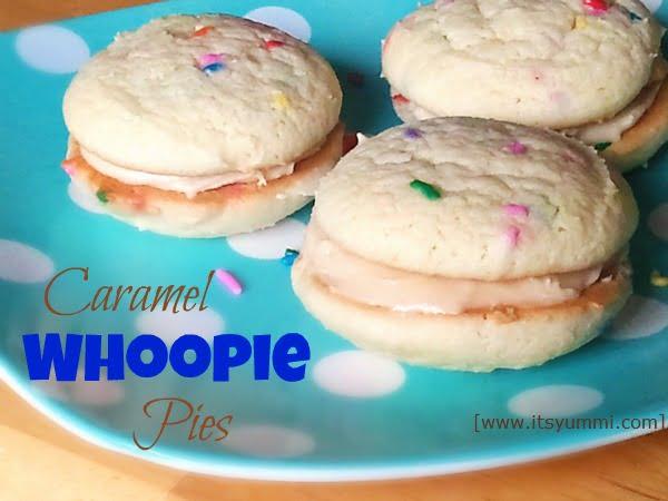 Saturday Snack – Caramel Whoopie Pies