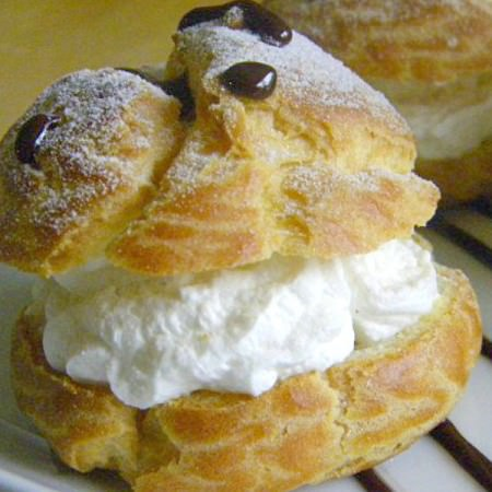 Cream puffs and puff pastry - get the recipes on ItsYummi.com