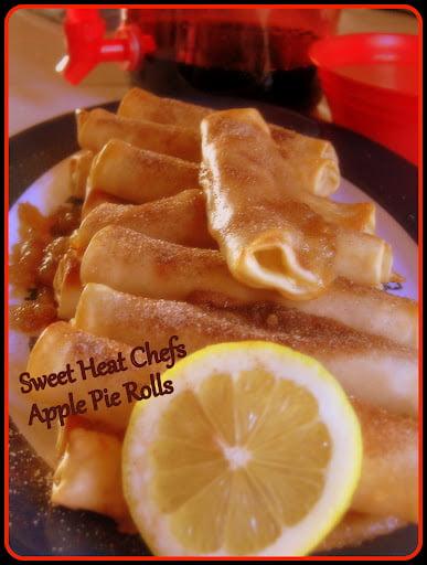 Apple Pie Rolls from @SweetHeatChefs