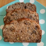 Banana Walnut Bread made with Nectresse no calorie sweetener by ItsYummi.com