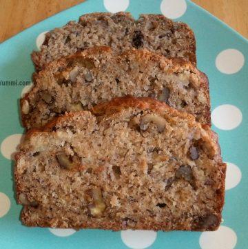 Healthier Banana Walnut Bread – Baking with Nectresse