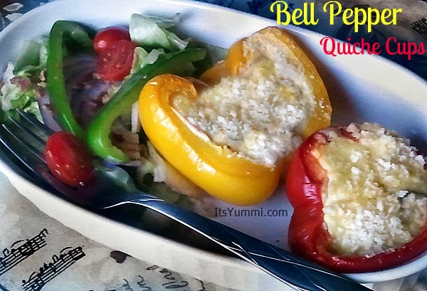 Bell Pepper Quiche Cups