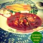 Tomato Vegetable Soup from ItsYummi.com
