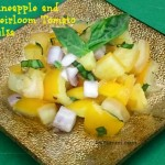 Pineapple & Heirloom Tomato Salsa from ItsYummi.com