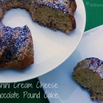 Zucchini Cream Cheese & Chocolate Pound Cake from ItsYummi.com