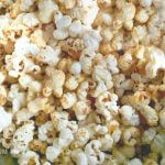 Cinnamon Kettle Corn - A sweet and salty snack recipe from itsyummi.com