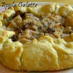 Caramel apple galette from ItsYummi.com