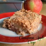 Cinnamon Apple Crisp from ItsYummi.com