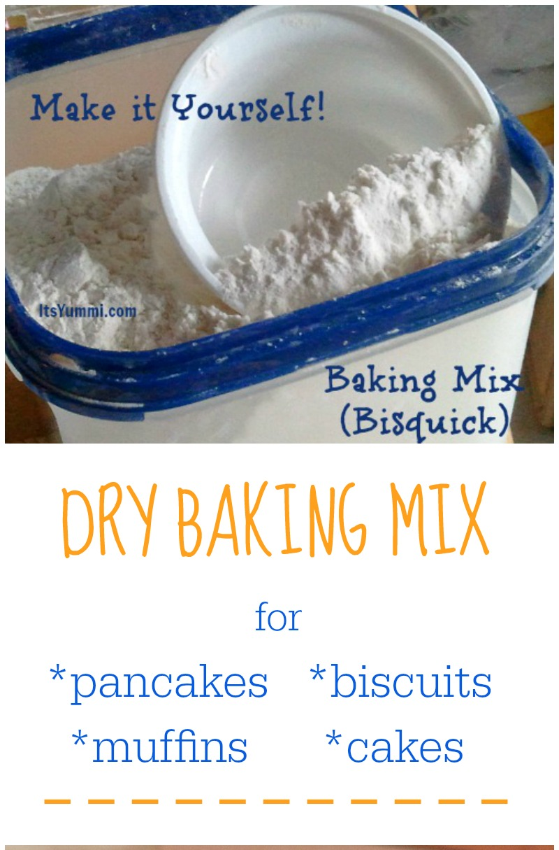 Homemade Bisquick Mix (DIY Bisquick