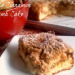 Apple Cinnamon Crumb Cake from ItsYummi.com