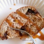 Chocolate Caramel Stuffed Banana Bread - Get the recipe from itsyummi.com