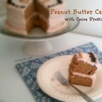 Chocolate Peanut Butter Cake with Cocoa Frosting - Get this delicious dessert recipe from ItsYummi.com