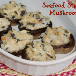Seafood Stuffed Mushrooms from ItsYummi.com