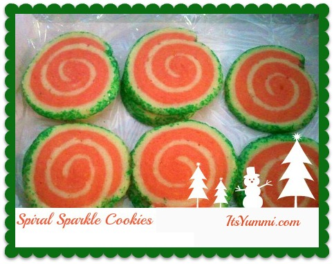 Sparkly Spiral Cookies Recipe