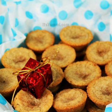 Chai Snickerdoodle Cookie Bites from ItsYummi.com