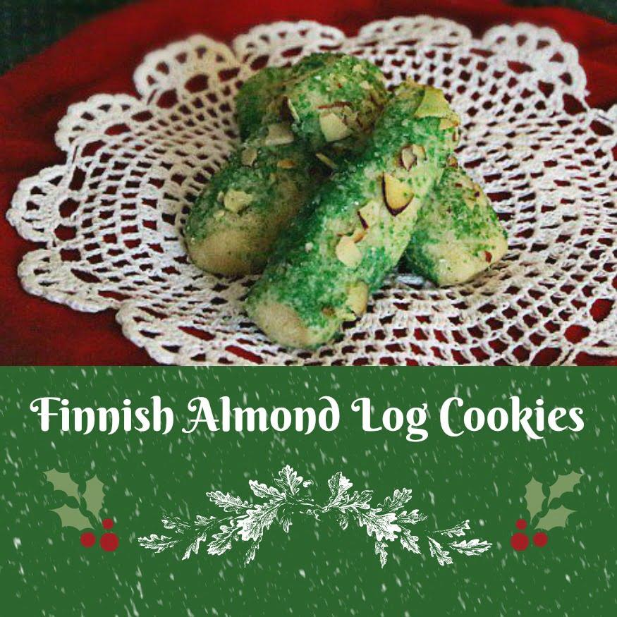 Finnish Almond Log Cookies Its Yummi