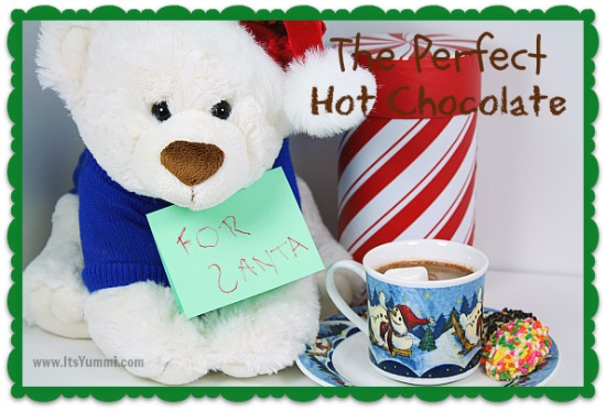 Perfect Homemade Hot Chocolate Recipe | @itsyummi
