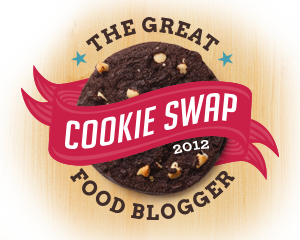 Food Blogger cookie swap2012