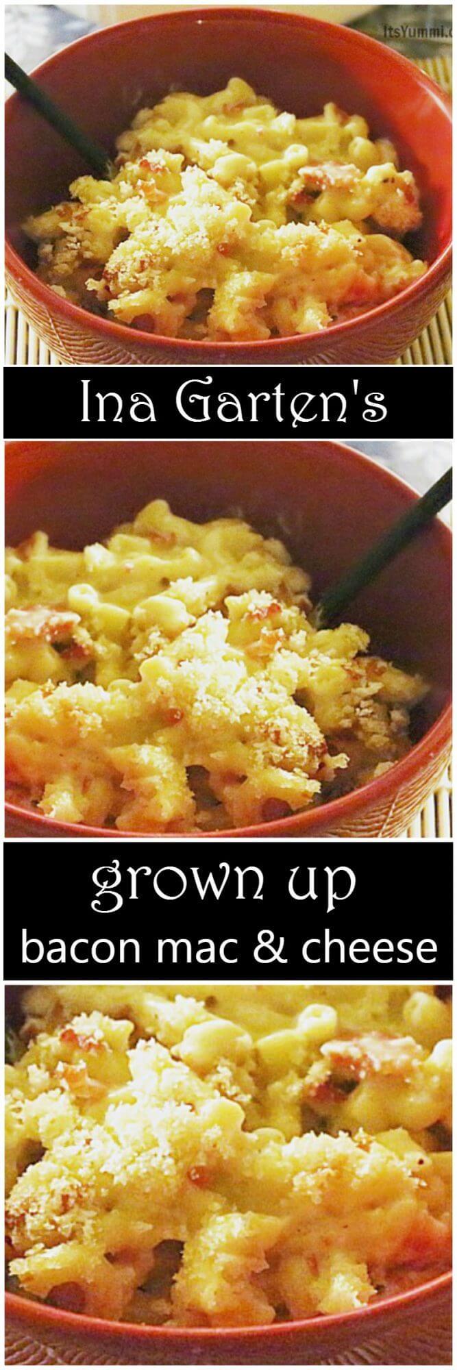 ina garten's grown up bacon mac and cheese ⋆ its yummi
